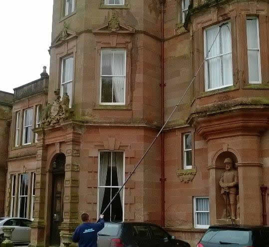 Window cleaning in Wigton - Cumbria window cleaner